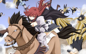 Picture sword, game, armor, anime, fight, ken, blade, horse, asian, manga, japanese, Fairy Tail, oriental, asiatic, …