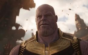 Wallpaper Marvel, Avengers: Infinity War, Thanos, Titan, Josh Brolin, Josh Brolin, 2018, The Avengers, The Avengers: ...