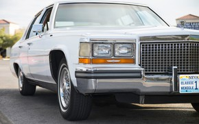 Picture retro, Cadillac, the front