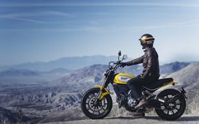 Picture Ducati, bike, Scrambler
