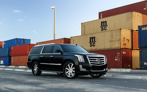 Picture Cadillac, Escalade, Black