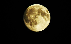 Picture night, The moon, the full moon, zoom, powerShotSX550i, superzoom