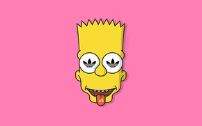 Wallpaper The simpsons, Minimalism, Figure, Language, Face, Adidas, Simpsons, Bart, Art, Adidas, Cartoon, The Simpsons, Character, ...