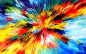 Picture photo, image, explosive, Watercolor