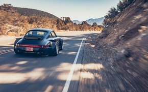 Picture Road, Mountains, 911, Porsche, Speed, Karera, Porsche, Carrera, 964, RWB, 1988, Rough, World, Term, Watanabe