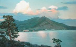 Picture landscape, 2008, Aibek Begalin, Bayanaul
