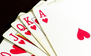 Picture Royal Flush, Poker, Playing Cards