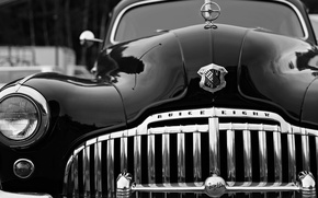 Wallpaper style, retro, Buick, the front, Buick