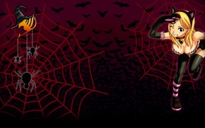 Picture spider, logo, game, anime, pretty, Lucy, bat, cosplay, asian, manga, witch, japanese, Fairy Tail, oriental, …