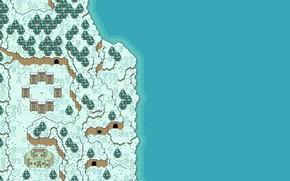 Picture Winter, Sea, Stonehenge, Art, Pixels, Stonehenge, 8Bit, PXL