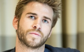 Picture Liam Hemsworth, Liam Hemsworth, at the press conference of the film the Hunger games