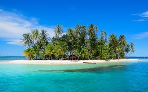 Picture tropics, the ocean, island