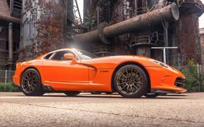 Picture orange, sports car, Viper, Dodge Viper
