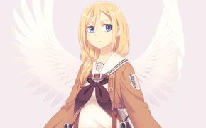Picture soldier, anime, Queen, angel, asian, manga, japanese, asiatic, tenshi, Shingeki no Kyojin, Attack On Titan, ...