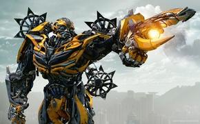 Wallpaper cinema, gun, robot, mecha, weapon, movie, Bumblebee, film, cannon, Transformers: The Last Knight, Transformers 5