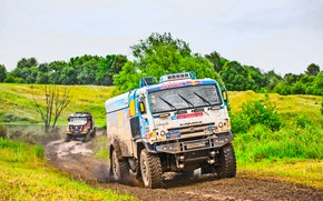 Wallpaper Grass, Sport, Speed, Race, Master, Dirt, Renault, Squirt, Russia, Kamaz, Rally, Rally, KAMAZ, Master, Silk ...