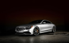 Picture Mercedes, AMG, Coupe, S63