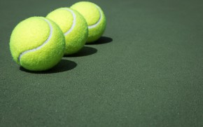 Picture background, color, Tennis Ball