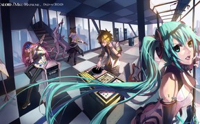 Picture Vocaloid, Vocaloid, Studio