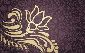 Picture flower, pattern, ornament
