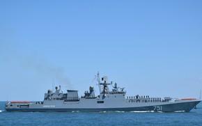 Picture the black sea, frigate, Admiral Essen