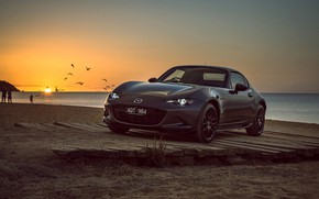 Wallpaper sunset, Mazda, 2018, MX-5, RF Limited Edition