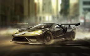 Picture car, auto, tuning, Ford, Ford, car, auto, tuning, Yasid Design, Yasid Oozeear