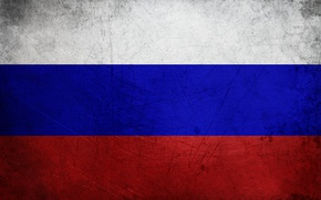 Picture red, white, blue, flag, russian federation