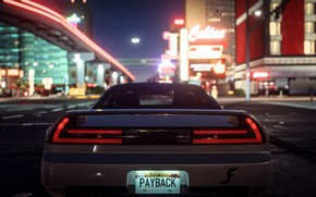 Wallpaper Need For Speed Payback, street, car, the city