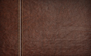 Wallpaper brown, texture, leather, background