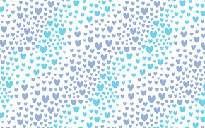 Picture Hearts, Background, Texture