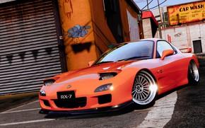 Picture Mazda, car, Grand Theft Auto V, GTA V.