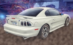 Picture background, car, Ford Mustang, SVT Cobra