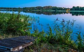 Picture The sky, Lake, Landscape