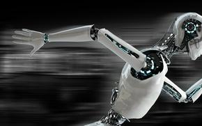 Picture Robot, speed, running
