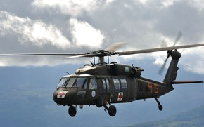 Picture Sikorsky, UH-60 Black Hawk, multi-purpose helicopter