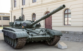 Wallpaper main, tank, combat, THE T-72M