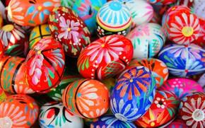 Wallpaper eggs, The Resurrection Of Christ, Pysanka, texture, Easter