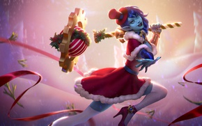 Picture holiday, new year, Christmas, art, Heroes of Newerth, Chronos, Christmas Chronos