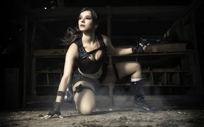 Picture Tomb Raider, cosplay, female