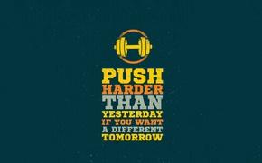 Picture push, motivation, quote