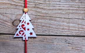 Picture New Year, Christmas, wood, merry christmas, decoration, christmas tree