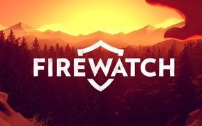 Picture Logo, Campo Santo, Firewatch, Fire watch