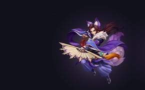 Picture fantasy, the game, fan, art, Skil, costume design, Shiwei Li, what do you want