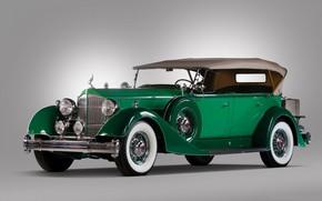 Picture retro, Twelve, Packard, 1934, Phaeton
