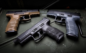 Picture background, guns, Tactical, HK VP9
