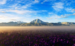 Picture mountains, nature, beauty