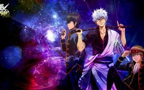 Picture anime, gintama, gintoki, hijikata, hijikata toshiro, okita sougo, gintoki and hijikata, Okita Sogo, Hijikata Toshiro, …