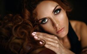 Picture look, makeup, sponge, Svetlana Eliseeva