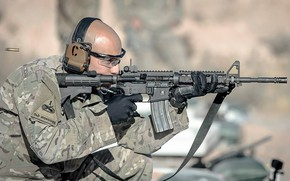 Picture Training, U.S. Army, M4 semiautomatic rifle, Capt. Jacob Cortez